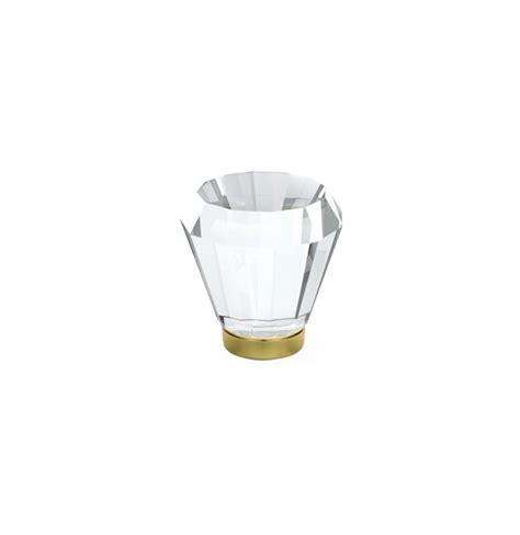 Emtek Glass Cabinet Knobs by Emtek Brookmont Clear Cabinet Knob 1 Quot 86396