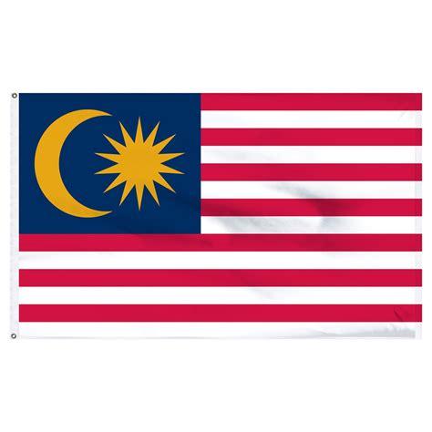 flags of the world malaysia malaysian flag flag of malaysia 3ft x 5ft nylon