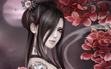 geisha tattoo wallpaper manga wallpaper hd free download