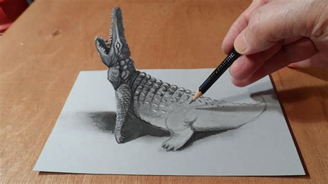 How To Make A 3d Drawing On Paper - 33 of the best 3d pencil drawings bored panda