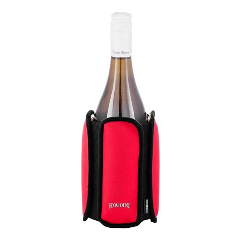 chilled wine rack rabbit wine chiller the container store