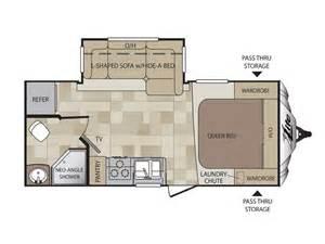 trailer floor plan 2014 cougar xlite 19rbe floor plan travel trailer keystone