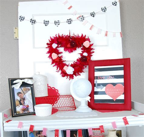 100 valentines home decor home decor tour
