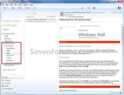windows 10 live mail tutorial my old computer has window mail my new computer has