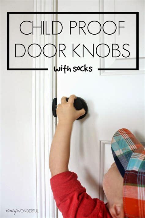 door sock wonderful child proof door locks with socks kid