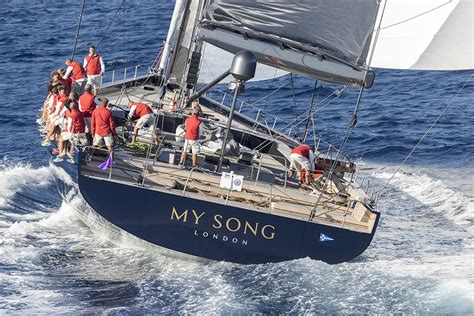 yacht yacht yacht song on board baltic 130 my song the most impressive sailing