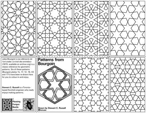 printable zine template a mini zine of geometric patterns coloringbook 171 adafruit