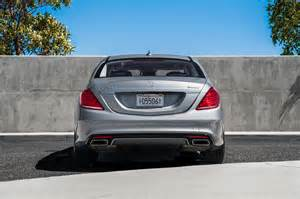 Mercedes S550 4matic 2014 2014 Mercedes S550 4matic Rear End Photo 14