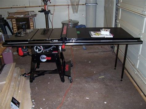 Sawstop Giveaway - sawstop contractor saw how to build a wood awning over a