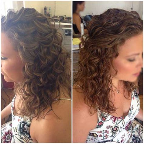 bridal hairstyles naturally curly hair 30 best half up curly hairstyles hairstyles haircuts