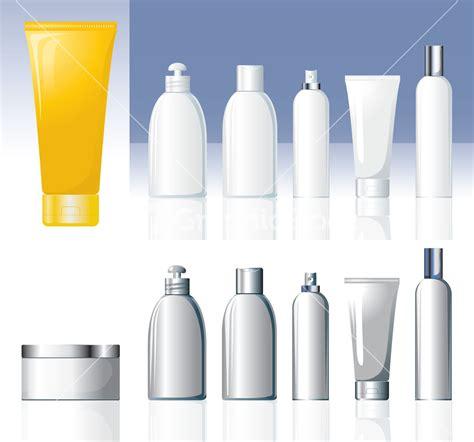 Bottle Ventor cosmetic bottles vector stock image