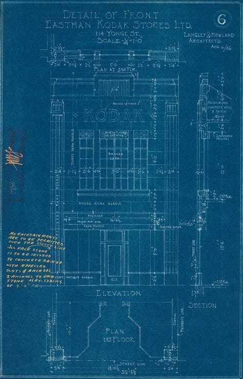 Chrysler Building Blueprint by A Work In Progress Municipal Regulation City Of Toronto