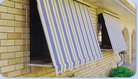 awning automatic automatic lock arm awnings noosa screens and curtains