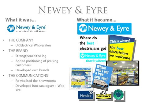 Newey And Etre by Branding In The Digital Age Tarrystone Consultants