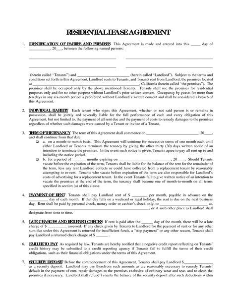 sle generic rental agreement generic lease agreement teacheng us