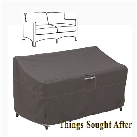 outdoor couch with storage cover for small patio loveseat outdoor sofa furniture love