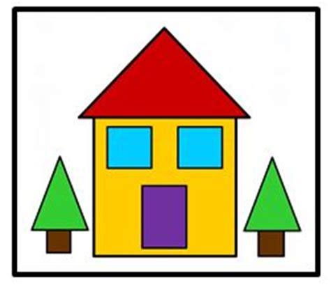 shape house ourhomecreations preschool file folders