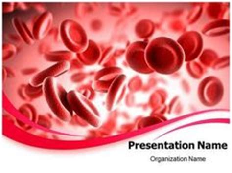 blood powerpoint template make a professional looking science and related powerpoint