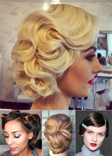 Vintage Wedding Hair Up by Best 25 Vintage Updo Ideas On Vintage Bridal