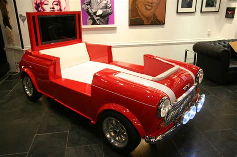 mini car sofa classic mini furniture by george ioannou