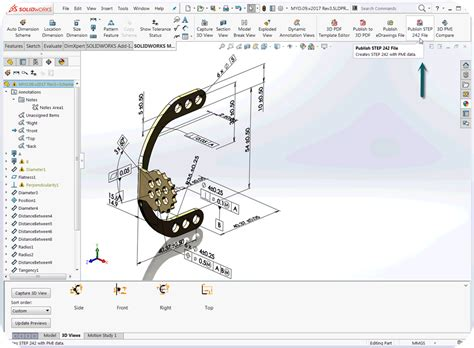Mbd Implementation Dos And Don Ts Don T Equate Mbd With 3d Pdf Engineers Rule Solidworks 3d Pdf Template