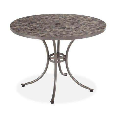 marble top patio table marble top patio table and metal side tables lot 55 quot