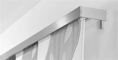 gardinenschiene ohne offnung al designhaus vorhangsysteme piccolo fl 228 chenvorhang