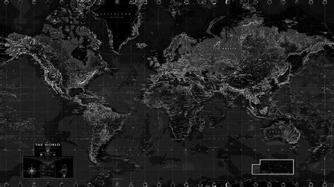 black map black and white world map wall mural rand mcnally store