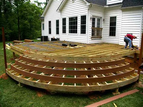 How To Build A Deck by How To Repairs Building Deck Stairs Stairs Design
