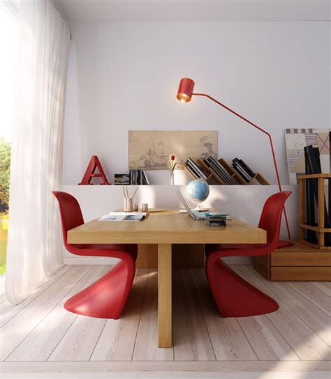 Wooden Office Chair Design Ideas Wood Office Table With Modern Chairs Interior Design Ideas