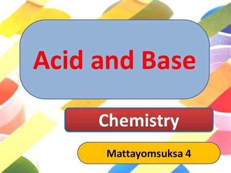 Acid Base Ppt Ppt Of Acid