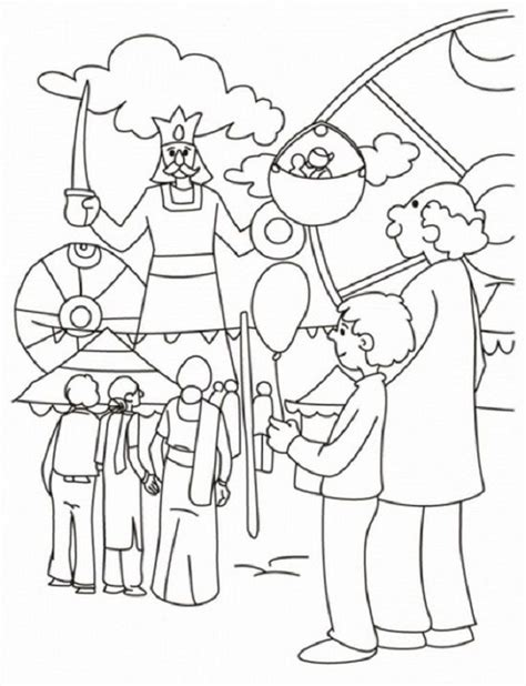 county fair coloring pages coloring home