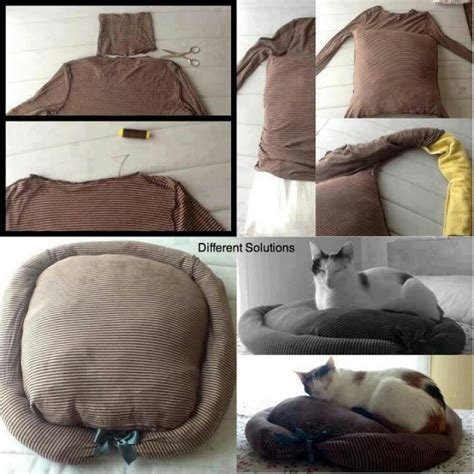 how to make a cat bed easy cat bed cool diy ideas pinterest