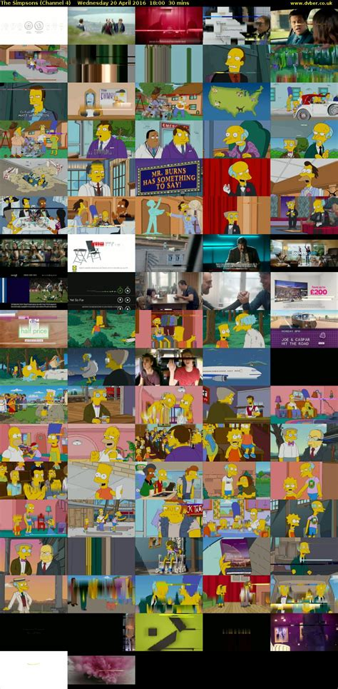 The Simpsons 04 the simpsons channel 4 2016 04 20 1800