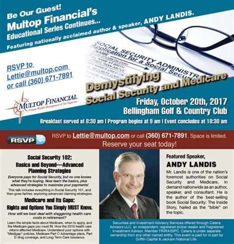 Social Security Office Bellingham Wa by Demystifying Social Security And Medicare Multop Financial