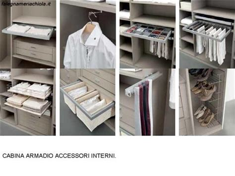 accessori interni armadi stunning accessori cabina armadio contemporary