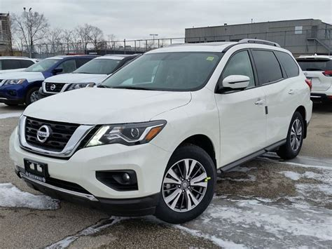 nissan pathfinder 2017 white 2017 nissan pathfinder sl white sherway nissan car