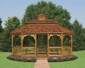 Kitchen Furniture Ottawa wood oval gazebos north country shedsnorth country sheds