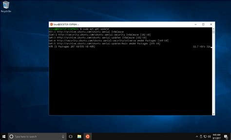 install windows 10 in ubuntu how to install ubuntu on windows 10 steemkr