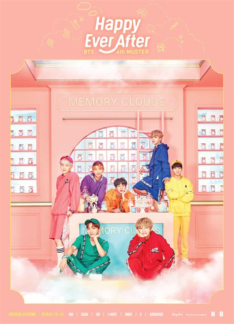 bts 4th muster bts drops teaser poster for 4th muster fanmeeting happy