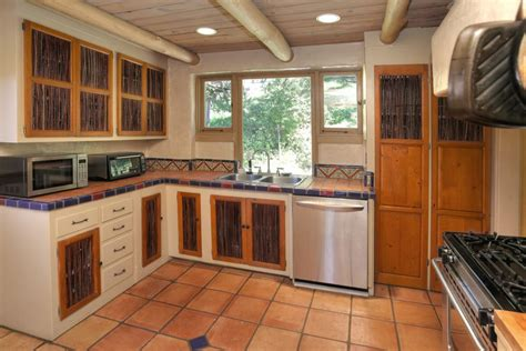 Mexican Kitchen Cabinets by Kitchen With Custom Hood Amp Flush In Santa Barbara Ca