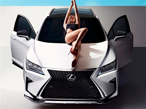 lexus ads 2016 lexus rx stars in sports illustrated shoot with