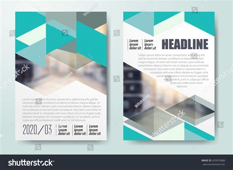 brochure templates for books brochure template design book cover layout stock vector