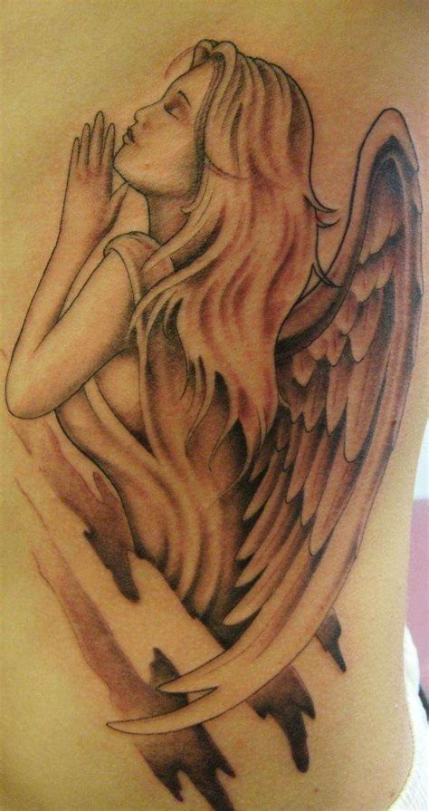 angel tattoos and designs page 368 guardian angel tattoo rzeżba ceramiczna pinterest