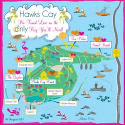 duck key florida map as seen on wedding hawks cay on duck key florida
