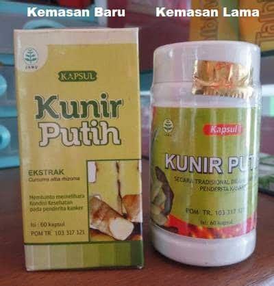Obat Di Klinik Herbal Putih kapsul kunir putih kapsul kunir putih tazakka kapsul