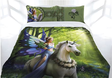 King Bedding Sets Clearance Anne Stokes The Realm Of Enchantment Quilt Cover Set