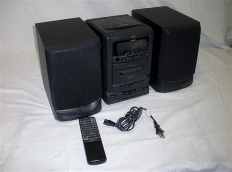 jvc ux t1 am fm cd executive bookshelf stereo system