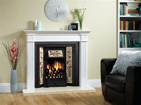 Tiled Fireplace Insert by Glazed Hearth Tiles Stovax Classic Fireplace Tiles