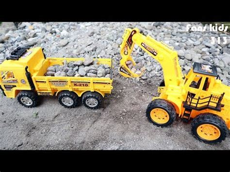 Mainan Anak Truk Keruk Mb152 excavator truck for excavator for childern